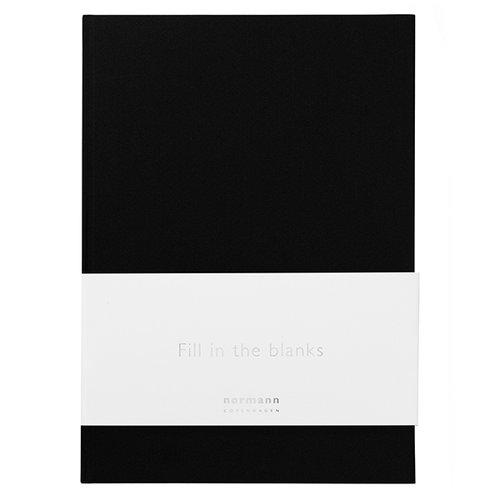Normann Copenhagen Daily Fiction notebook, large, black