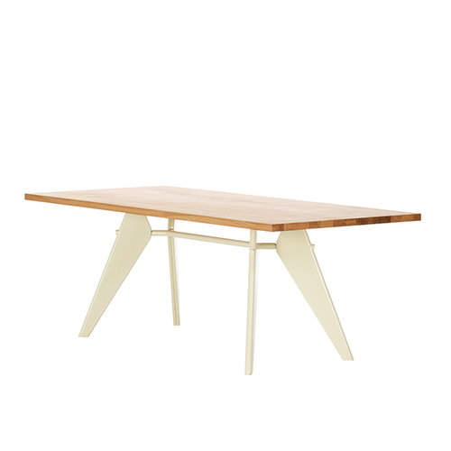 Vitra Em Table 200 x 90 cm, tammi - ecru