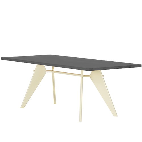 Vitra Em Table 240 x 90 cm, asphalt - ecru