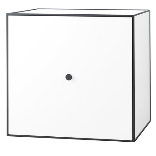 By Lassen Frame 49 box with door, white