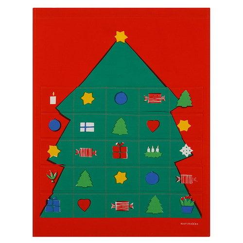 Marimekko Rosolli advent calendar