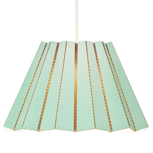 Andbros Model No. 1 pendant lamp, polar green