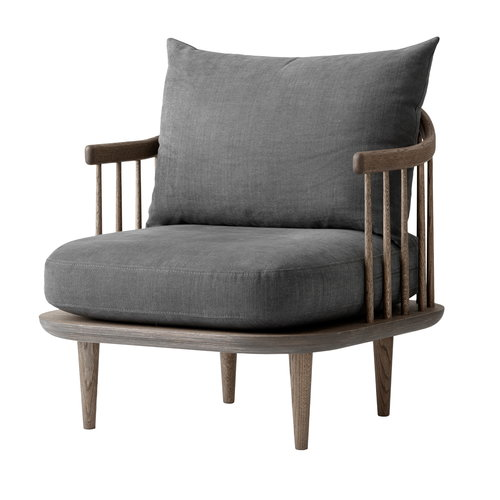 &Tradition  Fly SC10 lounge chair, smoked oak - Hot Madison 093