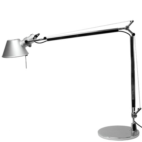 Artemide Tolomeo LED table lamp, aluminium