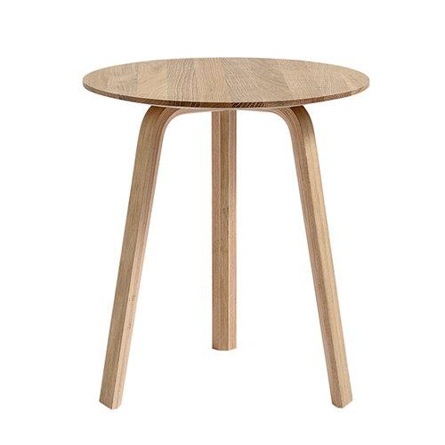Hay Bella sivupöytä 45 cm, korkea, mattalakattu tammi