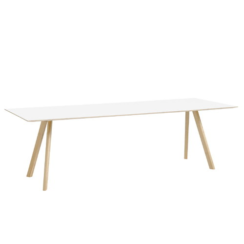 Hay Copenhague CPH30 table 250x90cm, matt oak - white laminate