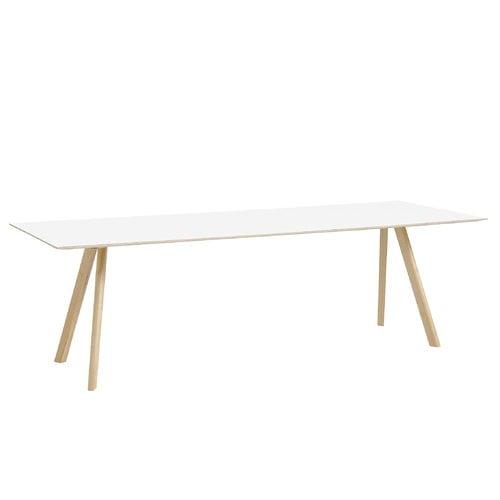 Hay Copenhague CPH30 table 250x90 cm, matt oak - white laminate