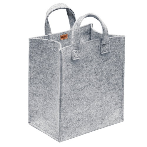 Iittala Meno home bag medium, grey felt