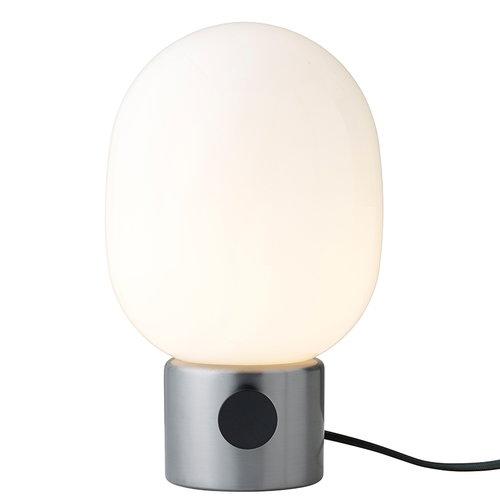 Menu JWDA table lamp, brushed steel