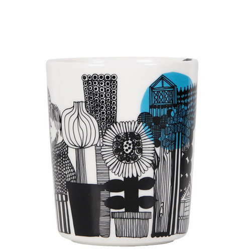 Marimekko Oiva - Siirtolapuutarha mug without handle 2,5 dl