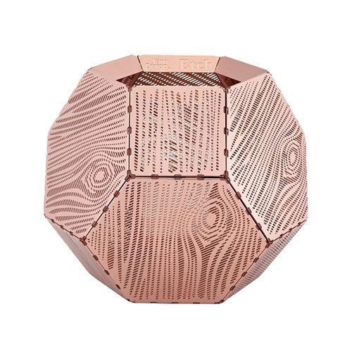 Tom Dixon Etch Wood candleholder, copper