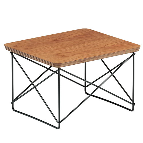 Vitra Eames LTR Occasional table, cherry - black