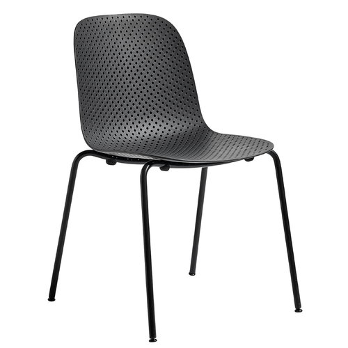Hay 13Eighty chair, graphite black - soft black