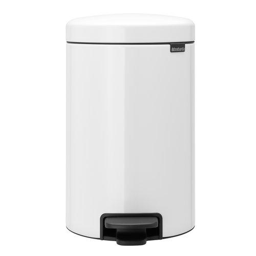 Brabantia newIcon pedal bin, white