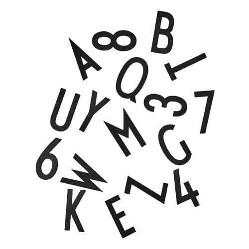 Design Letters Letters for message board, large, black