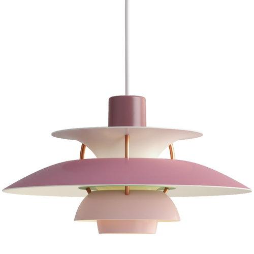 Louis Poulsen PH 5 Mini riippuvalaisin, roosa