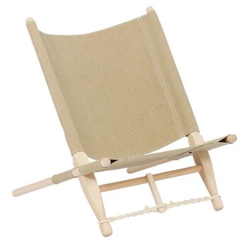 Skovshoved Møbelfabrik OGK safari chair, beech - linen
