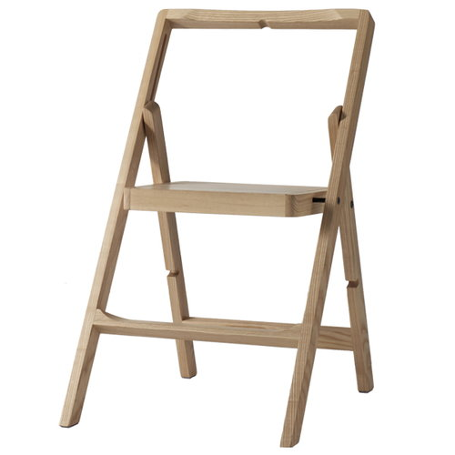 Design House Stockholm Step Mini stepladder, oak