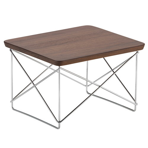 Vitra Eames LTR Occasional table, walnut - chrome