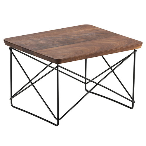Vitra Eames LTR Occasional table, walnut - black