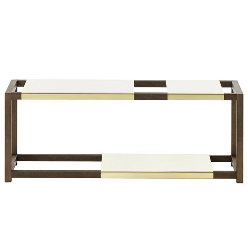 Adea The Botanic Shelf, brown - brass