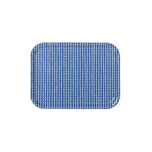 Artek Rivi tray, 27 x 20 cm, blue-white