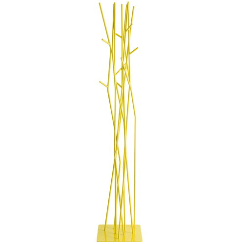 Covo Latva coat stand, sulfur yellow