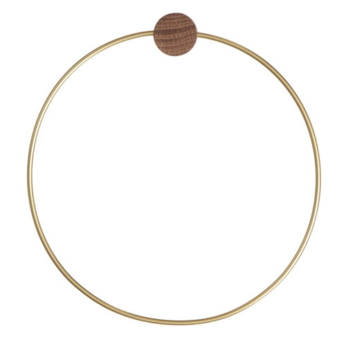 Ferm Living Towel hanger, brass