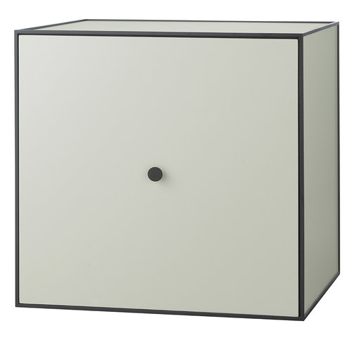 By Lassen Frame 49 box with door, pale green