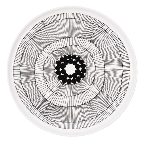 Marimekko Oiva - Siirtolapuutarha plate 25 cm