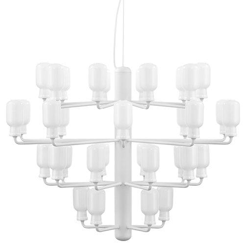 Normann Copenhagen Amp chandelier, large, white