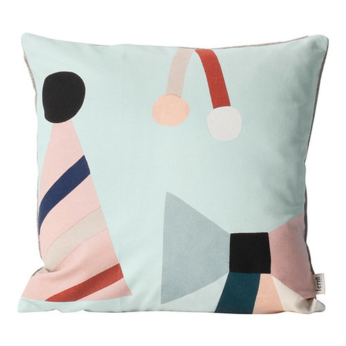 Ferm Living Party cushion, mint