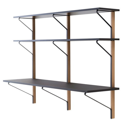 Artek REB 010 Kaari shelf with workdesk