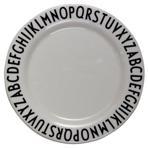 Design Letters Piatto in melamina Arne Jacobsen