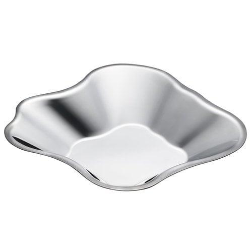 Iittala Aalto steel bowl, deep