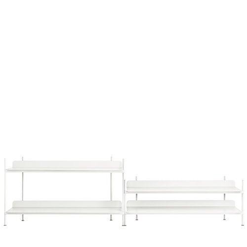 Muuto Compile shelf, Configuration 5, white