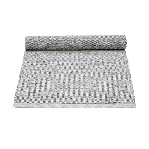 Pappelina Svea table runner, 36 x 130 cm, grey metallic