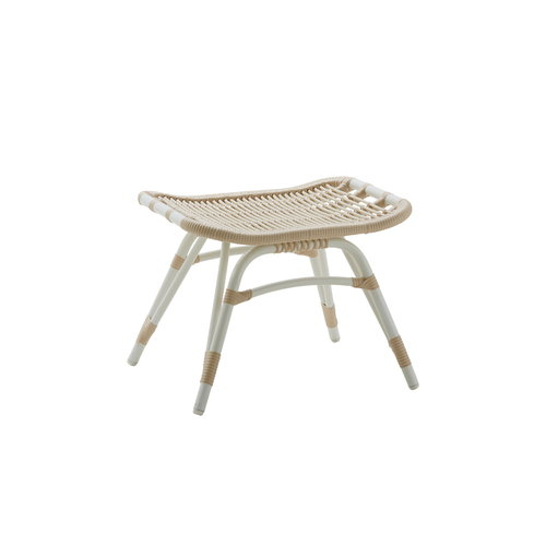 Sika-Design Monet foot stool, exterior, white