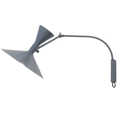 Nemo Lighting Lampe de Marseille Mini wall lamp, grey