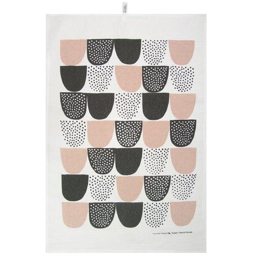 Kauniste Sokeri tea towel, pink