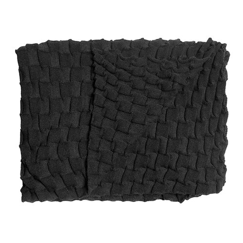 Design House Stockholm Curly throw, anthracite