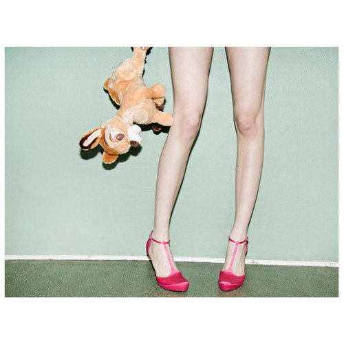 Paper Collective Bambi & Heels poster