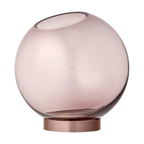 AYTM Globe vase, medium, Special Edition rose gold