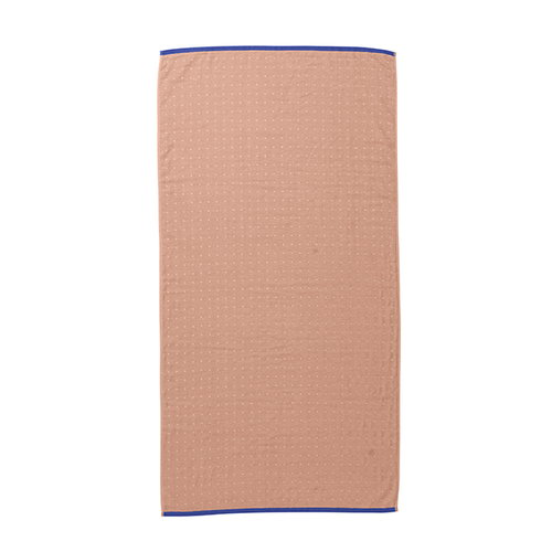 Ferm Living Sento bath towel, rose