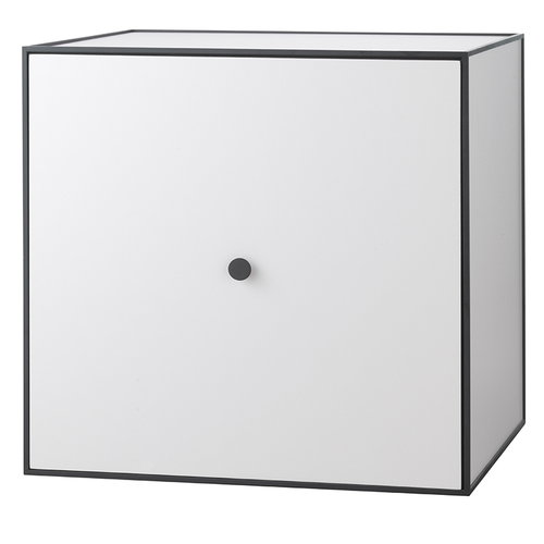 By Lassen Frame 49 box with door, light grey