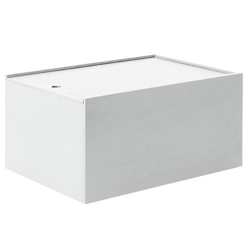 Lundia System 3 laatikko, savunharmaa