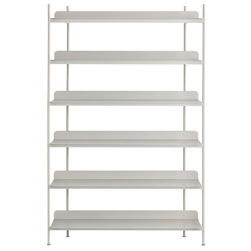 Muuto Compile shelf, Configuration 4, grey