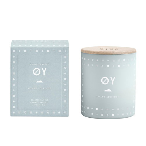 Skandinavisk Scented candle with lid, ØY