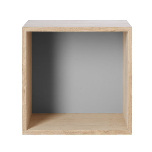 Muuto Stacked shelf module medium, ash/grey