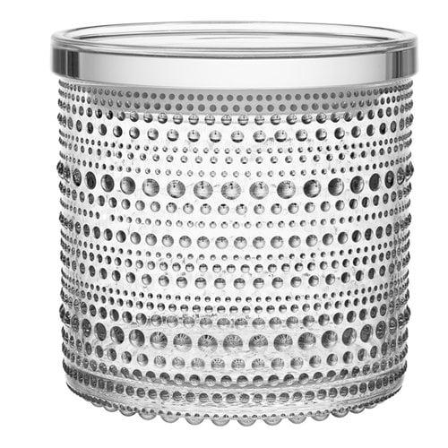 Iittala Kastehelmi purkki 116 x 114 mm, kirkas